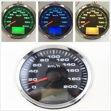 Car Marine Boat 0-200km/h GPS Speedometer Mileometer Speed Sensor LED Backlight