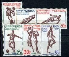 SENEGAL 1963 Yvert 217-222 ** POSTFRISCH TADELLOS SATZ SPORT (F4110