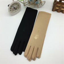 Women Protective Gloves Sun Anti UV Summer Driving Thin Touch Screen Gloves HY