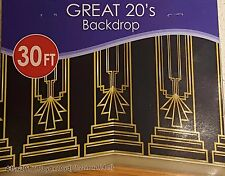 New Years Eve GREAT GATSBY 20s COLUMN BACKDROP Party Decoration PHOTO PROP Booth