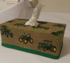 John Deere Tissue Box Cover (rectangle) Handmade