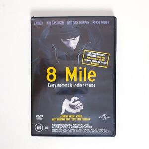 8 Mile DVD Movie Free Post Region 4 AUS - Docudrama Rap Eminem