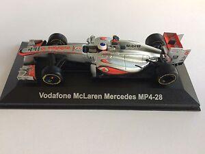 McLaren Mercedes MP4 28 JENSON BUTTON VODAFONE CORGI 1:43 scale  RRP £30 BNIB