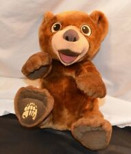 Disney Brother Bear Tumble Laugh Koda 16in Talking Plush Stuffed Animal