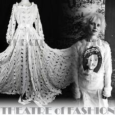 DRESS WEDDING VIVIENNE WESTWOOD CUT SLASH PULL 1991 RARE VINTAGE IN V&A MET ART