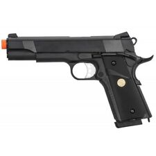 New listing Double Bell M1911 Gas Blowback MEU Airsoft Pistol Polymer BLACK