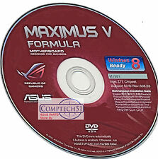 ASUS Maximus V Formula MOTHERBOARD DRIVERS M1981 WIN 8 & 8.1  DUEL LAYER DISK
