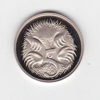 1985 5 Five Cent PROOF Coin ex Set Australia