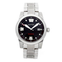 Eberhard Scafomatic Steel Auto 42mm Bracelet Mens Watch 41026.2