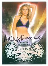 "HOLLEY DORROUGH ""AUTOGRAPH CARD"" BENCHWARMER HOLLYWOOD SHOW 2015"