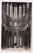 le mont-saint-michel , la basilique , le choeur -
