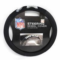 NFL Philadelphia Eagles Poly-Suede Steering Wheel Cover