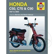 Honda C 90 M Cub 1996 Haynes Service Repair Manual 0324(Fits: Honda)