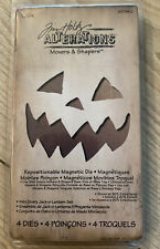 Sizzix Tim Holtz Alterations Movers & Shapers Kürbis Halloween Magnet Geist Die