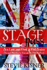 Stagepass by Stevie Kisner (2013, Paperback)