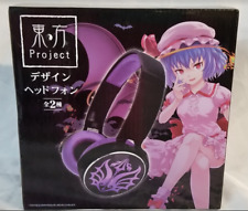 Touhou Project Remilia Scarlet TAITO Headphones