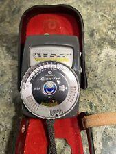 Gossen Luna-Pro Light Meter with Original Leather Case - Germany (West)