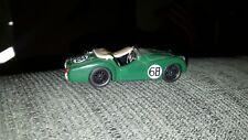 TR2 TRIUMPH #68 LE MANS RACING GREEN WIRE WHEELS 1:43 LEGEND HI-DETAIL 1955 TR-2