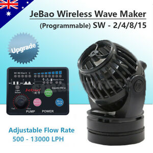 Jebao Marine SW-2 SW-4 SW-8 SW-15 Wireless Wave Maker Aquarium Pump Reef Tank