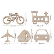 50pcs Laser Cut Wood Transportation Embellishment Wooden Shape Wedding Decors