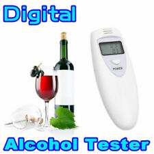 NEW Professional White Digital Breathalyser Breath Alcohol Tester Test Machine