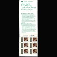 Canada, Sc #1225a, MNH, 1988, Booklet, Cpl., Christmas, LOBK147AR-B