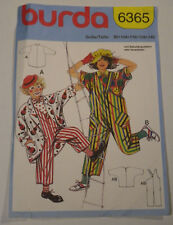 2d366d7f2 Burda-6365 Clown Costumes Sewing Pattern Child SZ 2-4-6-8