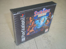 SUIKODEN.PLAYSTATION 1.PS1 NTSC CASE+INLAYS ONLY.NO GAME