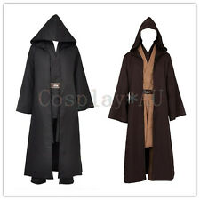 AU Stock~Unisex Adult Star Wars Cosplay Cloak Cape Brown version Free Ship