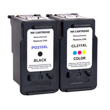 2 PK PG-210XL CL-211XL Ink Cartridge For Canon PIXMA MX320 MX330 MX340 MX350