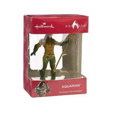 Aquaman ( Vhtf ) Dc Comics ( 2018 ) Hallmark Christmas Tree Ornament Figure