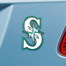 Seattle Mariners Heavy Duty Metal 3-D Color Auto Emblem