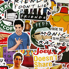 15 Random Friends TV Show Laptop Stickers - Joey Unagi Rachael Phoebe