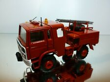 MACK LADDER TRUCK - FIRE BRIGADE - RED 1:50? RARE - VERY GOOD CONDITION