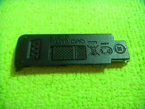 GENUINE CANON S110 BATTERY DOOR BLACK PARTS FOR REPAIR