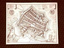 Leipzig - Lipsia Germania Incisione di Merian Matthäus del 1640 Ristampa