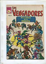LOS VENGADORES #54 (4.0) MEXICAN AVENGERS VHTF! 1967