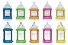 Cherub Baby Colour Change Glass Bottles Wide Neck 150mL/240mL Single Pack no BPA
