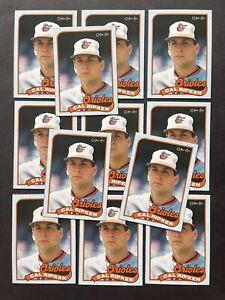12 Card Lot 1989 TOPPS O-PEE-CHEE CAL RIPKEN JR BOX PANELS BOTTOM HAND CUT 🔥