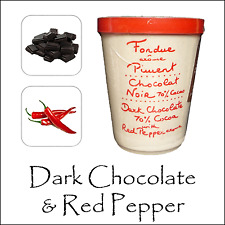 De Lujo Chocolate Fondue por aux anysetiers du Roy-Chocolate Oscuro & Chili Pepper