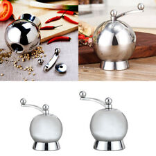 Mill Spice Manual Stainless Steel Salt Pepper Grinder Kitchen Tool Sauce