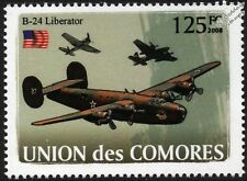 WWII Consolidated B-24 Liberator Heavy Bomber Aircraft Stamp