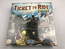 Days of Wonder Ticket To Ride BOARD GAME - Europe, NEW BOARD GAME SEALED