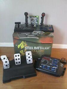 Steel Battalion Xbox Controller w/ pedals Capcom Blue button & Tank Game 2004