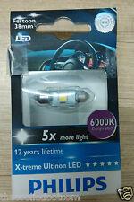 Philips Festoon 10.5x38mm LED 6000K Interior Bulb (12V, 1W) MRP 800 @ Rs 440/-