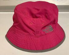 The North Face Kids Youth Sun Bucket Hat Dark Pink Fast Ship!