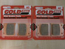 SUZUKI GSXR 750 (1985) GSXR750 > SINTERED FRONT BRAKE PADS (2 pair) *GOLDFREN