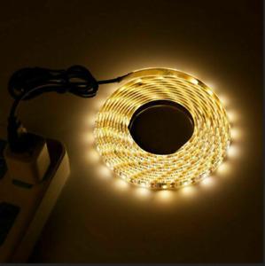 5M USB LED Strip Light 5V 3528 Flexible TV Back Light Party Lamp Tape Waterproof