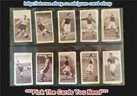 ☆ Churchman Association Footballers 1st Series 1939 (G) *Please Select Card*