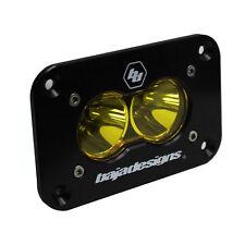 Baja Designs ATV S2 Sport LED Spot Light Amber Flush Mount